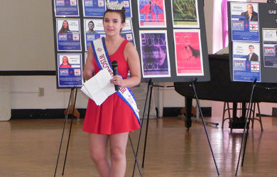 GAB visits St. Anthony's High School with Miss High School America (Photos)