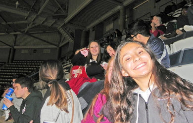 GAB Peer Ambassadors Cheer on the Milwaukee Bucks (Photo Gallery)
