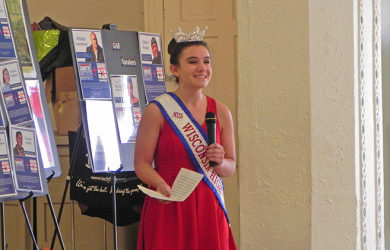 Miss Wisconsin High School Visits St. Anthony's Elementary (Photo Gallery)