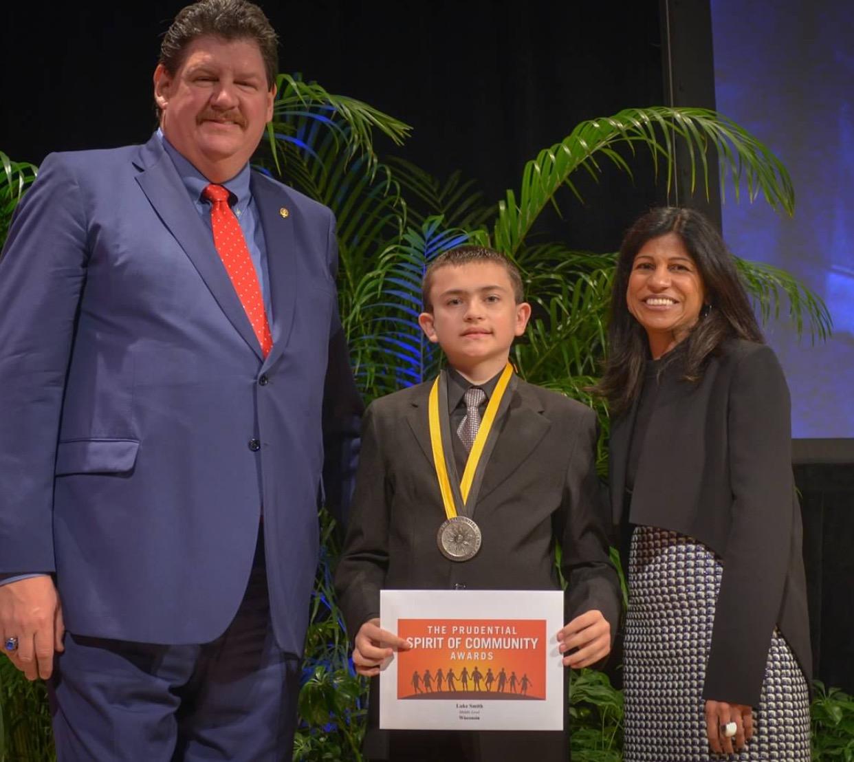 Lucas Smith: Prudential Community of Spirit Award