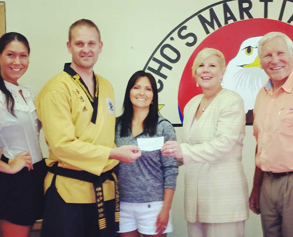 Cho's Martial Arts Hosts Fundraiser for Generations Against Bullying