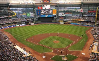 GAB Peer Ambassador Throws First Pitch at Miller Park