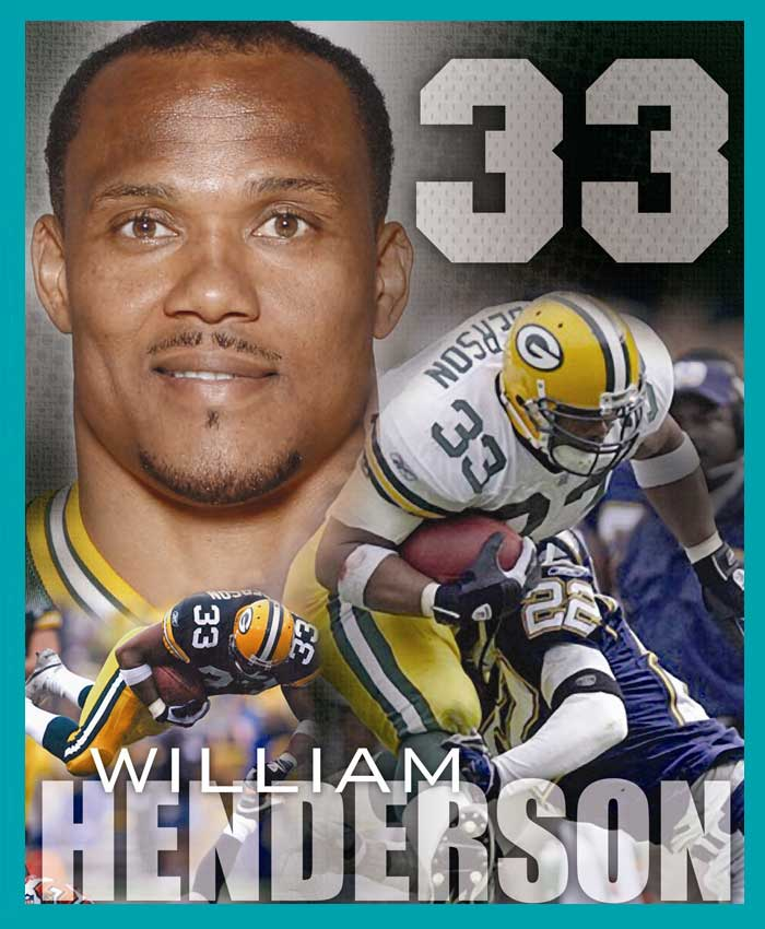 William Henderson - Green Bay Packers Hall of Fame
