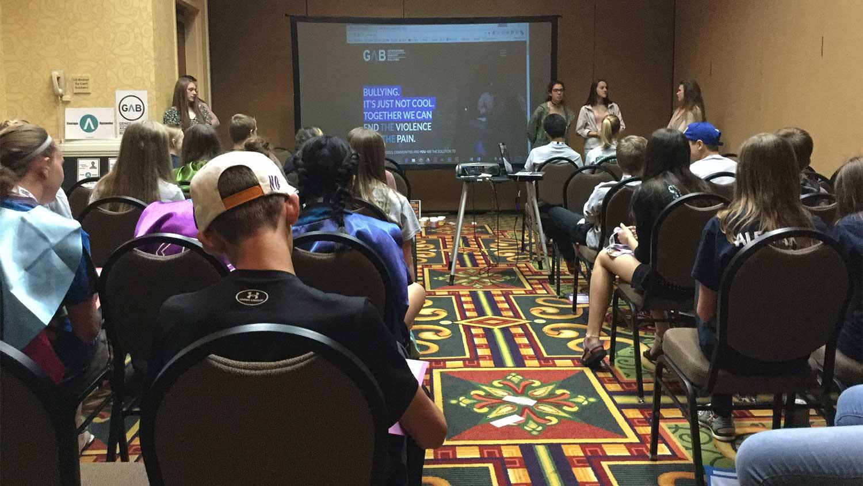 Peer Ambassadors Lead Break-Out Group at WASC