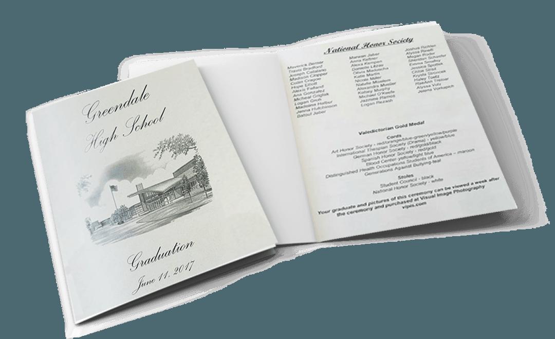 GREENDALE GRADUATION PAMPHLET