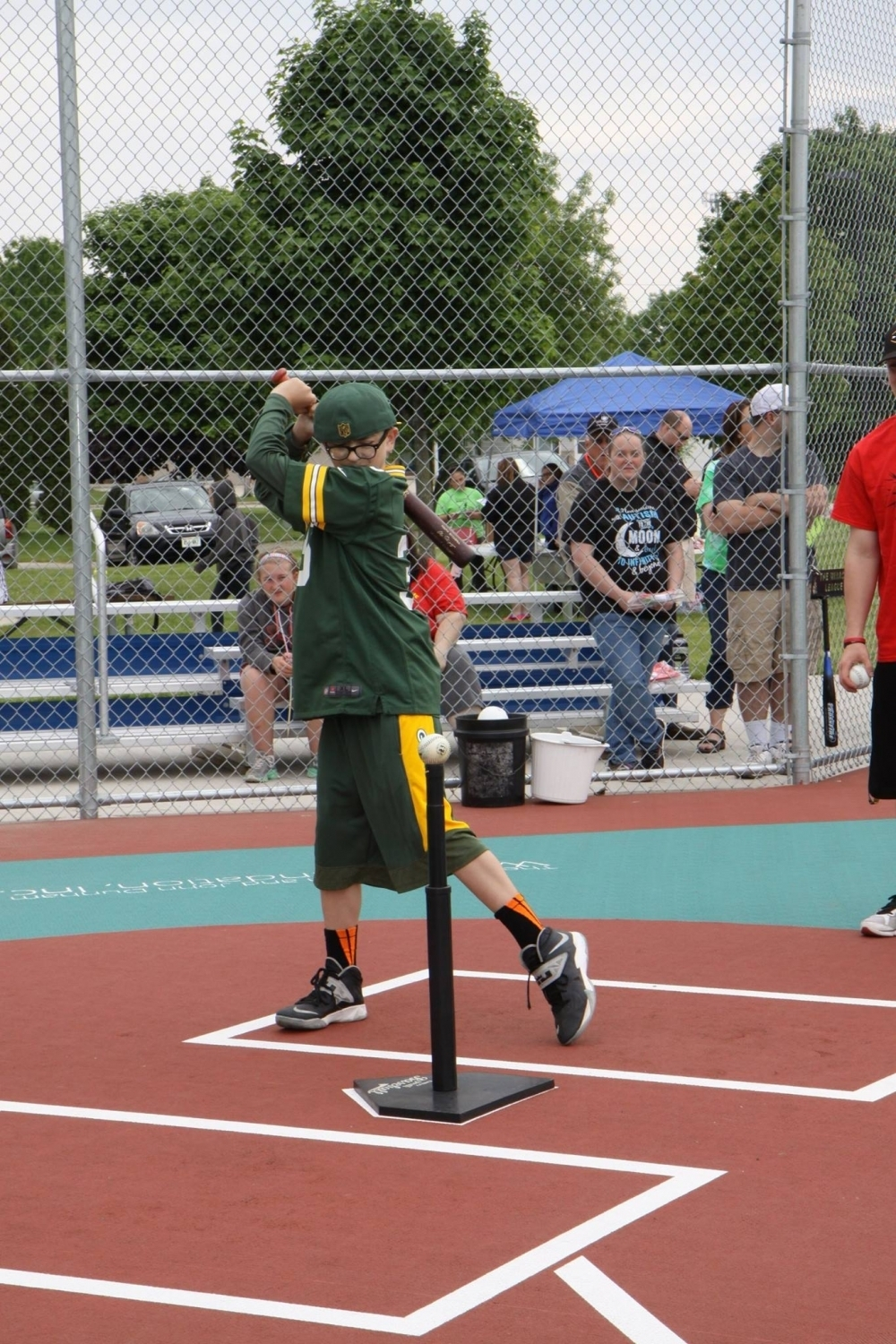 Lucas Smith Miracle League Baseball