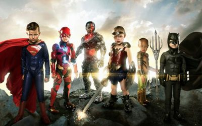 Photographer turns kids with disabilities, diseases into Justice League Superheroes