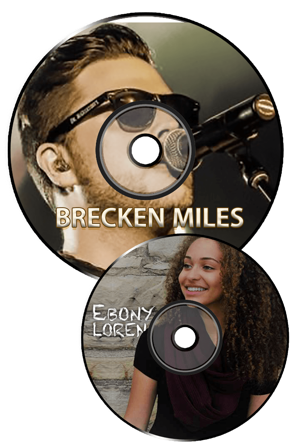 Brecken Miles and Ebony Loren