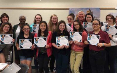 Milwaukee Girl Scouts Take The Upstander Pledge