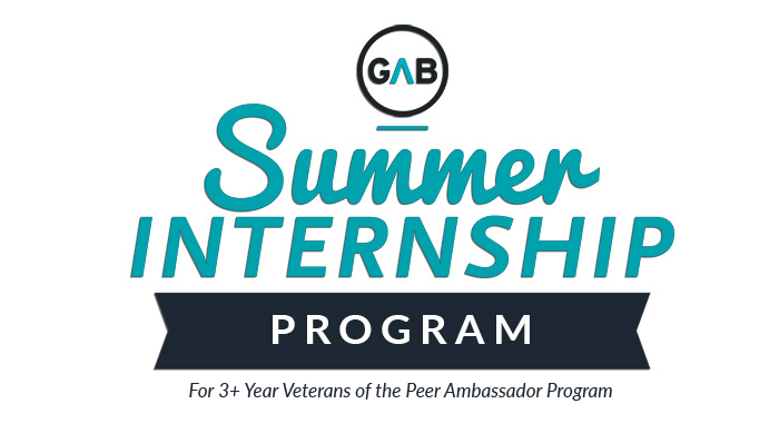 NEW! Peer Ambassador Summer Intern Opportunities
