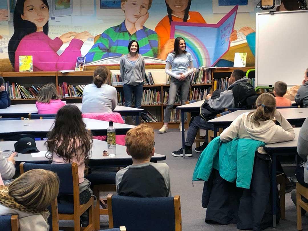 Fairview Elementary School Peer Ambassador Meeting