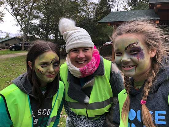 FUN WITH GIRL SCOUTS AND SCARY ZOMBIES